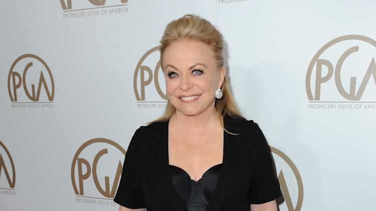 IMAGE DISTRIBUTED FOR THE PRODUCERS GUILD - Jacki Weaver arrives at the 24th Annual Producers Guild (PGA) Awards at the Beverly Hilton Hotel on Saturday Jan. 26, 2013, in Beverly Hills, Calif. (Photo by Jordan Strauss/Invision for The Producers Guild/AP Images)