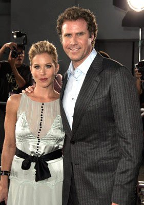 Premiere: Christina Applegate and Will Ferrell at the Hollywood premiere of Dreamworks' Anchorman - 6/28/2004
