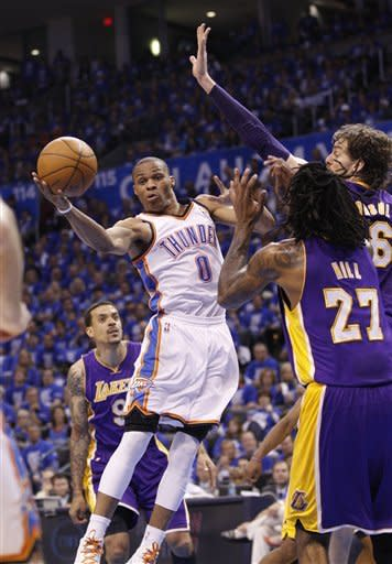 Lakers-Thunder Preview