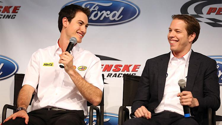 Logano happily adapts to life at Penske