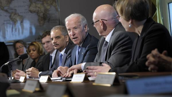 Biden meets with gun-safety, victims groups
