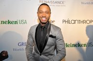 Terrence J is seen at the Hip-Hop Inaugural Ball on Sunday, Jan. 20 in Washington. (Photo by Larry French/Invision/AP)