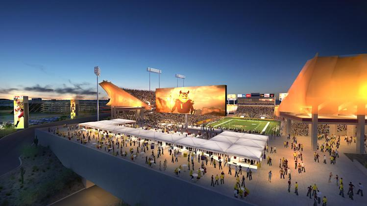 ASU has new plan for renovating Sun Devil Stadium