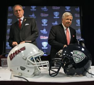 MAC and UMass football to part ways after 2015