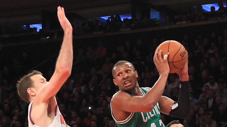 NBA: Boston Celtics at New York Knicks