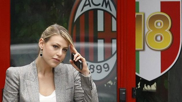 Barbara, daughter of AC Milan's President Silvio Berlusconi (Reuters)
