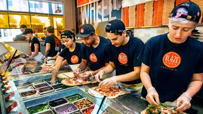Blaze Fast Fire'd Pizza Fires Up the Ovens in Henderson Today