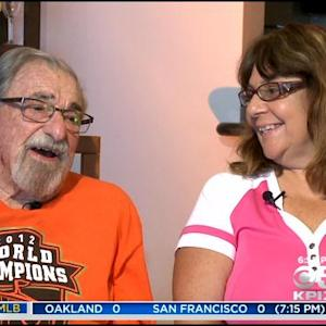 Bay Area Couple Watching Every Giants Road Game This Season