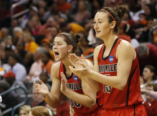 Louisville women Final Four bound with 86-78 upset