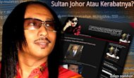 Blogger held under OSA over articles against Johor sultan