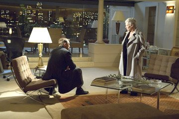 Daniel Craig as James Bond and Judi Dench as M in MGM/Columbia Pictures' Casino Royale