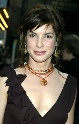 Sandra Bullock at the New York premiere of Warner Brothers' Murder By Numbers