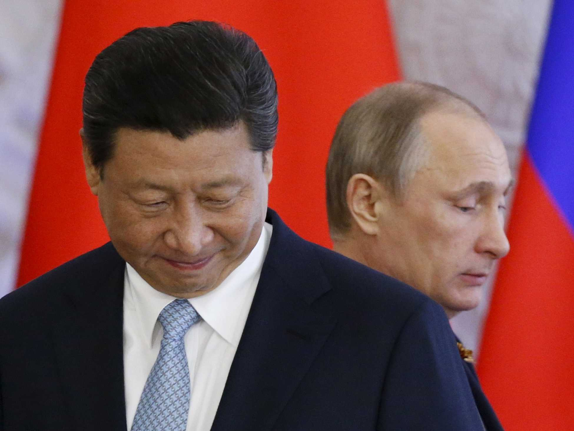 China and Russia are 'engaged in a contest for primacy in Eurasia'
