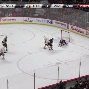 Robin Lehner Save on Matt Cullen (14:52/2nd)
