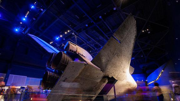 Seeing Space Shuttle Atlantis Fills Reporter with Inspiration ... and Regret