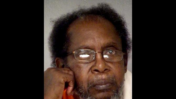 This undated photo provided by the Bibb County Jail shows Frank Louis Reeves of Macon, Ga. A chance encounter at a Georgia gas station left a 65-year-old woman dead and the 73-year-old man facing a murder charge after the woman's car and his motorized wheelchair bumped and he opened fire, police said Wednesday, Dec. 5, 2012. Linda Hunnicutt, 65, had just pulled into the gas station in Macon shortly after 1 p.m. Tuesday, Dec. 4, 2012 and stepped out of her car when Frank Louis Reeves pulled a gun and fatally shot her, police said. (AP Photo/Bibb County Jail)