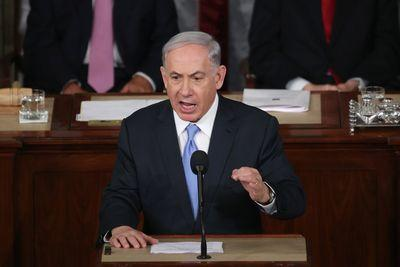 This tweet captures the glaring contradiction at the heart of Netanyahu's speech