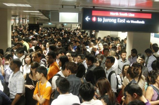 North-South Line MRT BREAKDOWN Photos | North-South Line MRT ...