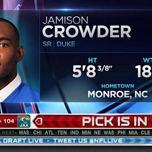 Washington Redskins pick Crowder No. 105 in the 2015 NFL Draft