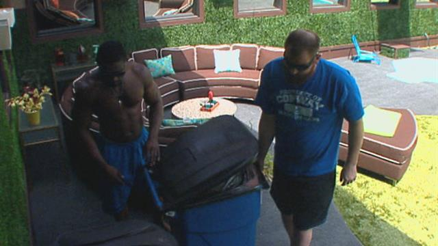 Big Brother: Feed Clip: Taking Out the Trash