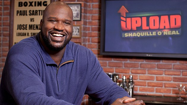 &quot;Upload with Shaquille O&#39;Neal&quot;