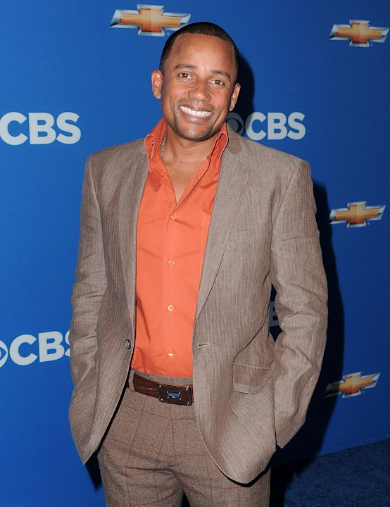 "Hill Harper of ""CSI: NY"" arrives at the CBS Fall Season Premiere party at The Colony on September 16, 2010, in Los Angeles."
