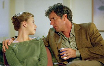 Scarlett Johansson and Dennis Quaid in Universal Pictures' In Good Company