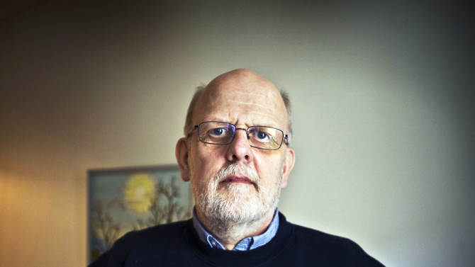 """FILE - This is file photo of Sture Bergwalls, taken on Apr. 15, 2012.    Once considered Sweden's worst serial killer, Sture Bergwall confessed to more than 30 murders over three decades, and was convicted of eight of them. Years later, he changed his mind and said his ghastly tales of slaughter, rape and even cannibalism were all lies, spawned by loneliness, a desire for attention and heavy medication. In what's become a major embarrassment for the Swedish justice system, Bergwall's convictions are now being overturned one by one. Courts that once found his chilling descriptions of the victims and the murder scenes enough proof to convict him now realize they may have been duped by a compulsive liar. """"This is the justice scandal of the century,"""" Bergwall, 62, told The Associated Press by telephone from a psychiatric hospital where he's been held since 1991. Five of his murder convictions have already been annulled. On Friday, Feb. 1, 2013, a court in northern Sweden ordered retrials in the remaining two cases: the 1976 death of 15-year-old boy whose remains were found 17 years later, and the fatal stabbings of a Dutch couple in 1984. (AP Photo/Yvonne Asell, File) SWEDEN OUT NO SALES EDITORIAL USE ONLY"""