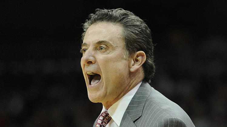 NCAA Basketball: Pittsburgh at Louisville