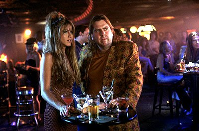 Jennifer Aniston and Timothy Spall in Warner Brothers' Rock Star