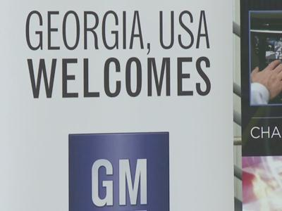 Raw: General Motors to Open Tech Center in Ga.