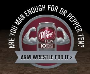 Dr. Pepper Arm Wrestling Expandable