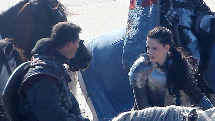 Spotted on set Huntsman 2011