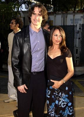 Jay Roach and Susanna Hoffs at the LA premiere of New Line's Austin Powers in Goldmember