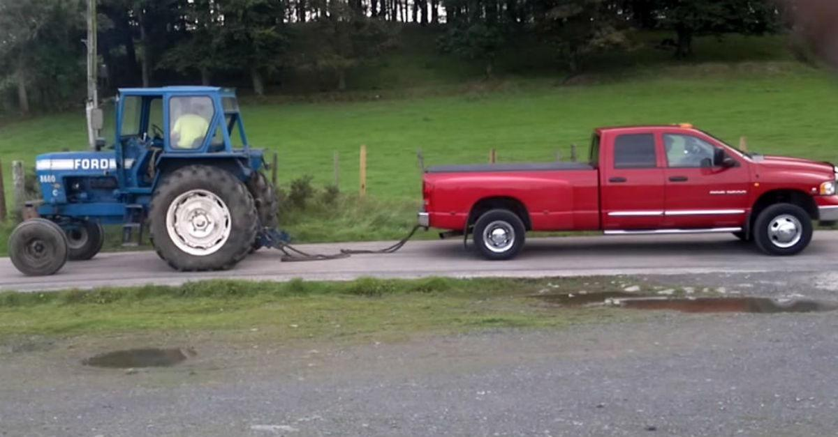 Who Do You Think Will Win? (Tractor or Truck)