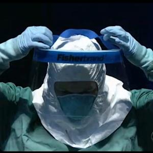 CDC demonstrates new Ebola procedures