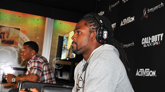 """Treyarch Studios And Activision Publishing Host Baltimore Ravens Players' Ray Rice And Torrey Smith For The Latest """"Call Of Duty: Black Ops II"""" Grudge Match For The Release Of The Uprising DLC"""