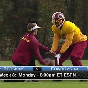 Washington Redskins head coach Jay Gruden not ruling out quarterback RGIII yet