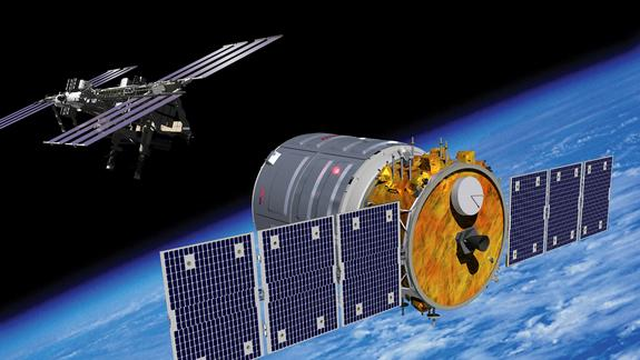 Private Spacecraft's 1st Space Station Trip Launches in September