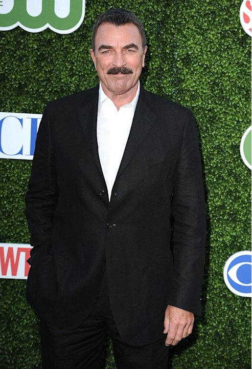 Selleck Tom CBS Press Tour