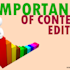 A Successful Content Creation Campaign, With a Content Editor