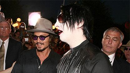 Depp and Manson Are 'So Vain'