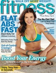Fitness Magazine, April 2011 cover