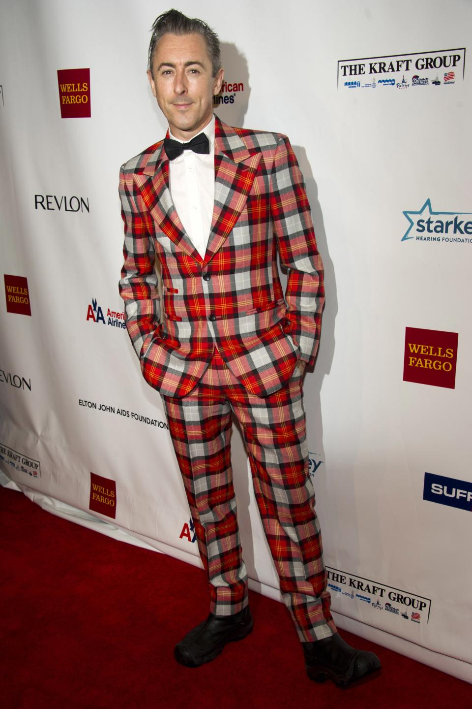 Alan Cumming attends Elton John's AIDS Foundation's 11th annual Enduring Vision benefit on Monday, Oct. 15, 2012  in New York. (Photo by Charles Sykes/Invision/AP)