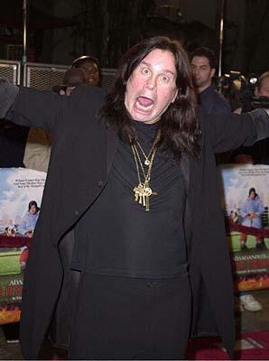 Premiere: The Ozzman Screameth - Ozzy Osbourne at the Mann's Chinese Theatre premiere of New Line's Little Nicky - 11/2/2000