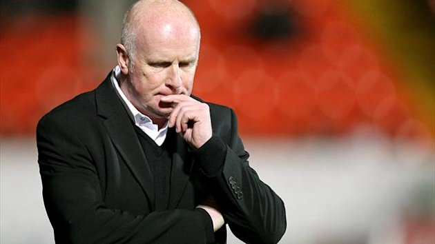 Peter Houston is one of the names on Blackpool's managerial shortlist