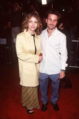 Deborah Kaplan and Breckin Meyer at the Westwood premiere of Columbia's Cruel Intentions