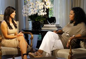 Kim Kardashian and Oprah Winfrey | Photo Credits: George Burns/OWN