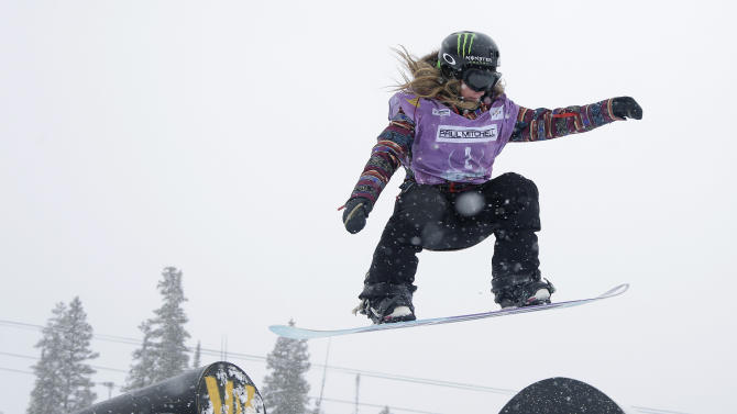 Anderson leads slopestyle qualifying