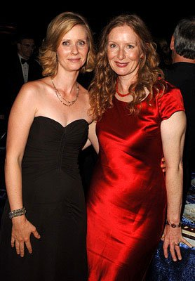 Cynthia Nixon and Frances Conroy